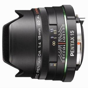 объектив PENTAX DA 15mm F4 ED AL Limited