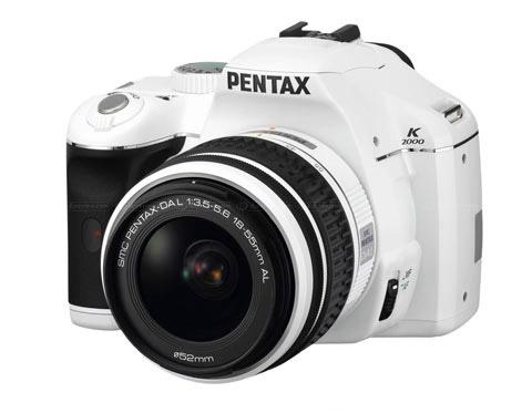 Pentax K2000 (K-m) в белом
