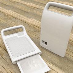 Braille Polaroid Camera