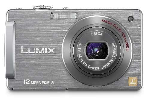 Panasonic DMC-FX550 - компактная фотокамера с сенсорным дисплеем