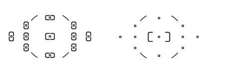 11-точечная АФ и Центральная точка фокуса в широкой зоне