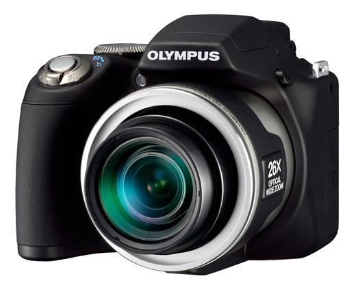 Olympus SP-590UZ - новый ультразум