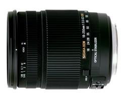 Sigma 18-250mm F3.5-6.3 DC OS HSM - новинка от Sigma
