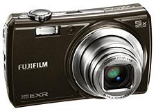 FujiFilm представила фотокамеру Fujifilm FinePix F200EXR с новым SuperCCD EXR фотодатчиком