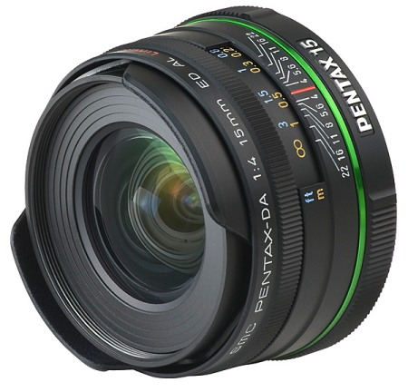 Pentax DA 15mm F4 ED AL Limited