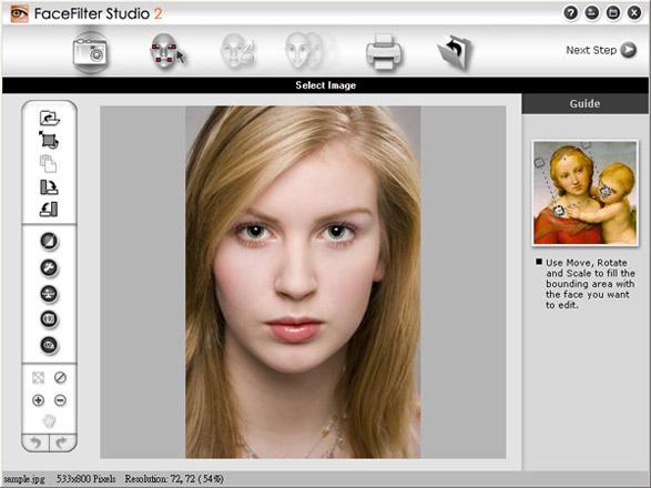 FaceFilter Studio - управляем эмоциями на фото