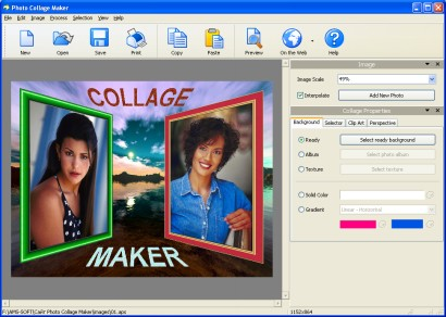 Auto Collage Studio - коллажи из фотографий