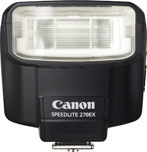 Canon Speedlite 270EX - компактная фотовспышка