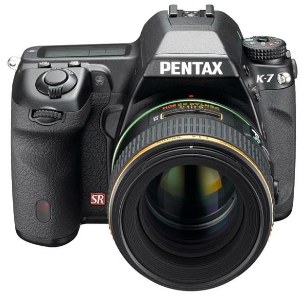 Pentax K-7 - зеркальная новинка