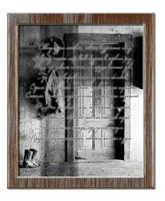 Рамка из красного дерева в фотошоп