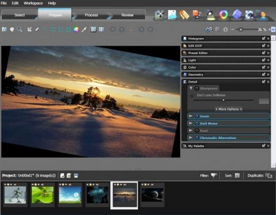 Обновление Optics Pro для Windows