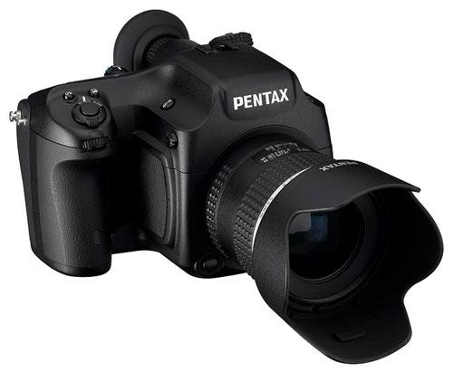 Среднеформатная камера Pentax 645D
