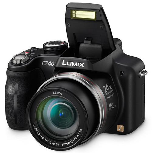 Panasonic Lumix DMC-FZ40 (в Европе DMC-FZ45)