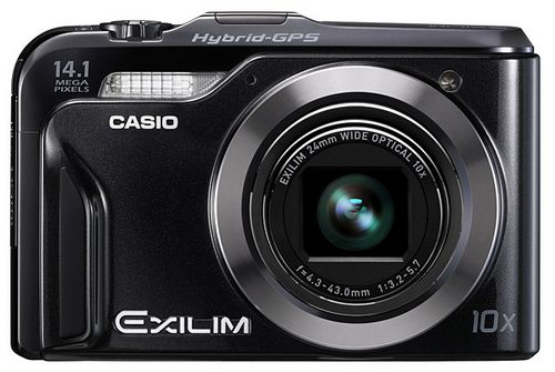 Casio Exilim EX-H20G с гибридной GPS