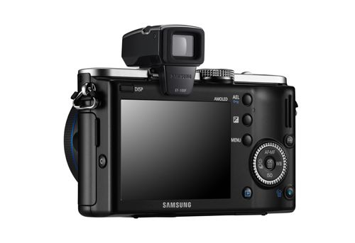 Беззеркальная фотокамера Samsung NX100