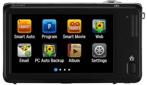 Samsung SH100 с поддержкой Wi-Fi