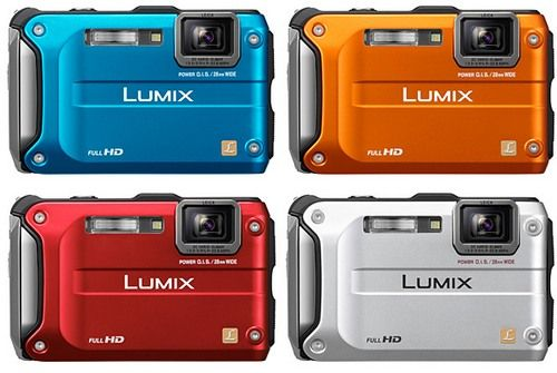 LUMIX DMC-FT3 с GPS-модулем и Full HD-видео