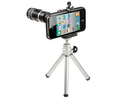 Rollei 8x - объектив для Apple iPhone 4