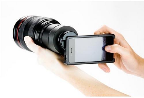 SLR-iPhone