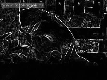 Имитация акварели в фотошоп