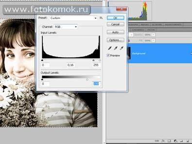 Виньетирование в фотошоп