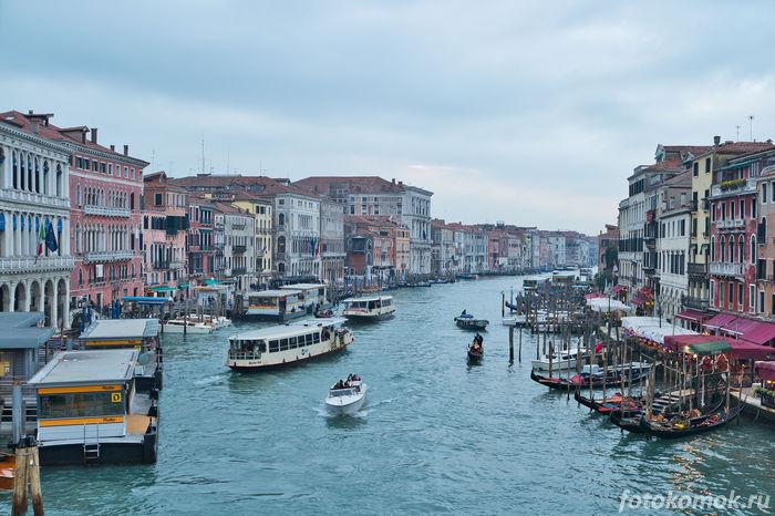 Венеция, каналы
