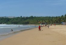 Гоа, пляж