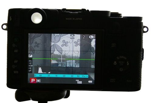 Дисплей Fujifilm FinePix X10