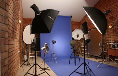 Аппаратура для съемки в студии