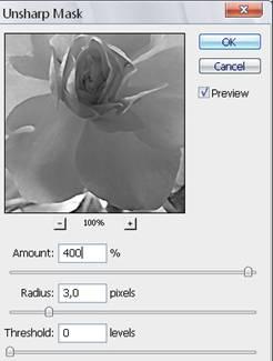 Увеличение резкости фотографии в фотошоп