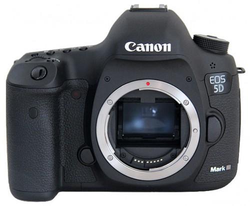 Обновление прошивки для Canon EOS 5D Mark III