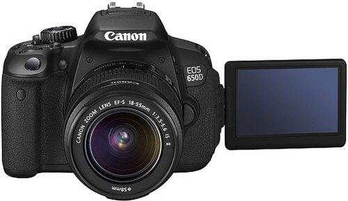 Canon EOS 650D с гибридной автофокусировкой