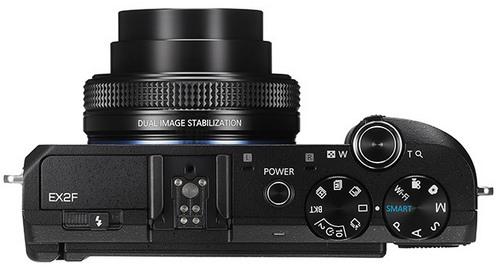 Samsung EX2F - компактная камера с объективом F1.4