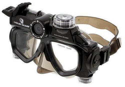 Маска для подводного плавания с FullHD камерой