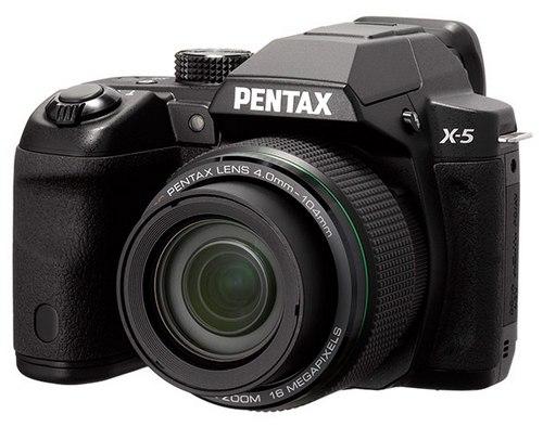 Pentax X-5 - суперзум на батарейках