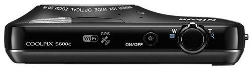 Nikon Coolpix S800c - фотоаппарат на Android