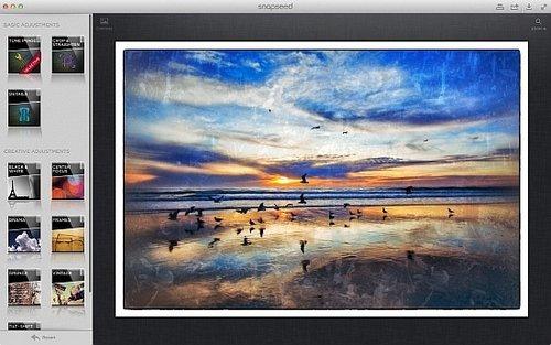 Редактор изображений Snapseed Desktop