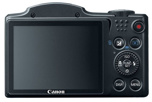 Суперзумы Canon PowerShot SX160 IS и SX500 IS