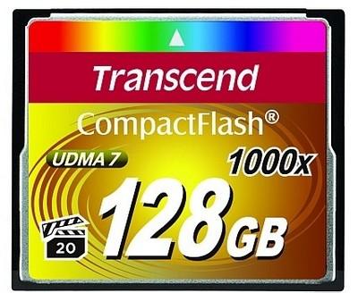 Карты памяти CompactFlash Transcend 1000x для профессиональной техники