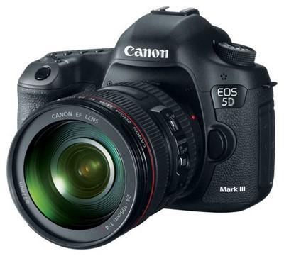 Анонс новой прошивки для Canon 5D Mark III
