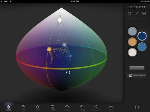 ColoRotate для iPad