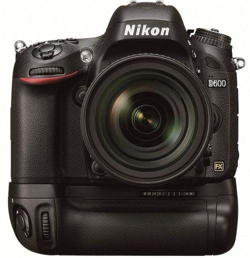 Nikon D600 - легкая полнокадровая фотокамера