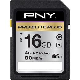 PNY SDHC Pro-Elite Plus карта памяти для фотографов