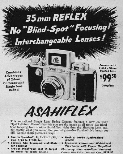 Asahiflex advert