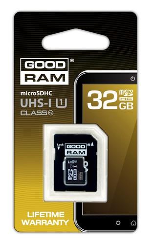 Карта памяти GOODRAM microSDHC class 10 UHS1