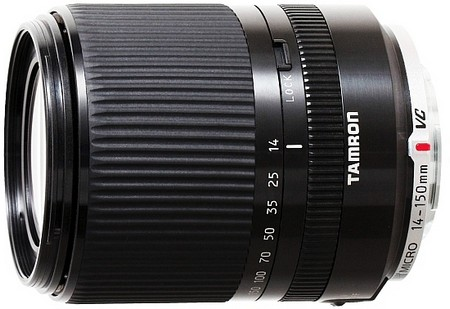 Tamron 14-150mm f/3.5-5.8 Di III VC для Micro Four Thirds