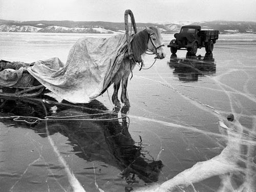 Ю.Кривоносов. Ушли за горючим. 1958