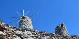 Крит, мельницы