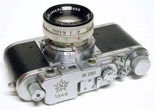 Армейский фотоаппарат «ВТСВС» (ист. fotolyap.ru)