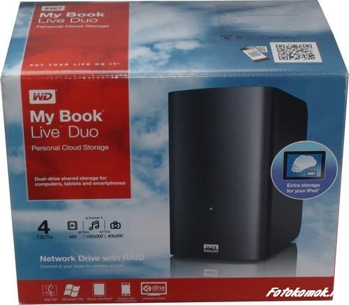 Обзор сетевого хранилища WD My Book Live DUO